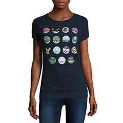 Pokemon Graphic T-Shirt- Juniors