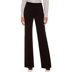 Liz Claiborne® Classic Sophie Secretly Slender™ Trouser Leg Pants - Tall