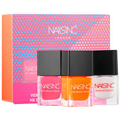 NAILS INC. High Performance Stay Bright Neon Collection