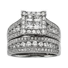 2 CT. T.W. Diamond Bridal Ring Set