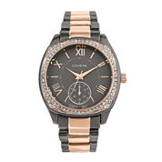 Geneva Womens Gray Bracelet Watch-Pt2271gmrg