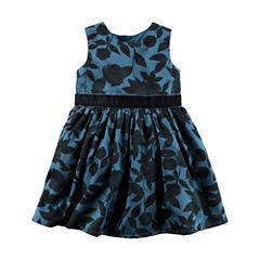Carter's Short Sleeve Babydoll Dress - Baby Girls