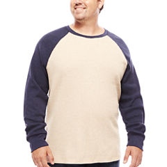The Foundry Big & Tall Supply Co.™ Long-Sleeve Waffle-Weave Shirt