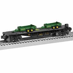 Lionel John Deere Flatcar with Load