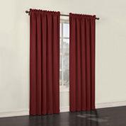 Sun Zero™ Emory 2-Pack Room-Darkening Rod-Pocket Curtain Panels