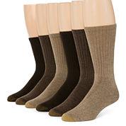 Gold Toe® 6-pk. Harrington Casual Crew Socks