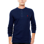U.S. Polo Assn.® Long-Sleeve Thermal Henley