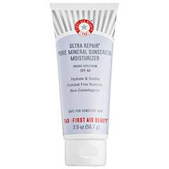 First Aid Beauty Ultra Repair® Pure Mineral Sunscreen Moisturizer Broad Spectrum Spf 40