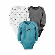 Carter's® 3-pk. Bear Bodysuits - Baby Boys newborn-24m
