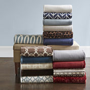 JCPenney Home™ Velvet Plush Throw