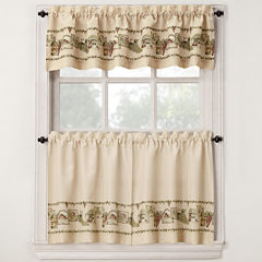 Bordeaux Kitchen Curtains
