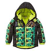 Teenage Mutant Ninja Turtles Puffer Jacket - Preschool Boys 4-7