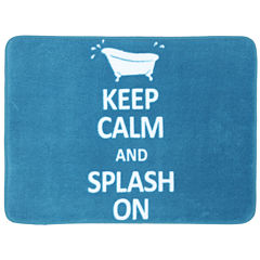 Mohawk Home® Keep Calm and Splash On Bath Rug