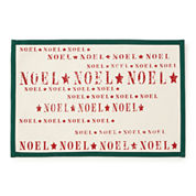 Holiday Noel Set of 4 Canvas Placemats