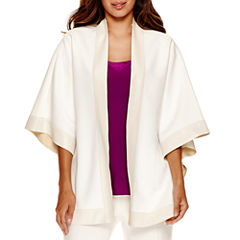 Worthington® Open Front Poncho