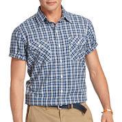 IZOD® Short-Sleeve Performance Poplin Shirt