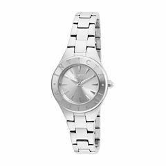 Invicta Womens Silver Tone Bracelet Watch-21742