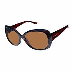 Liz Polarized Square Square UV Protection Sunglasses