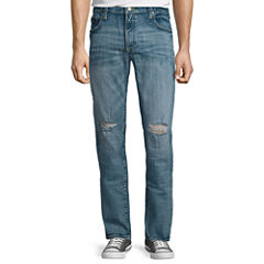 Arizona Destructed Slim Flex Jeans