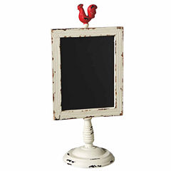 Rooster Chalk Board on Stand