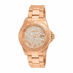 Invicta Womens Rose Goldtone Bracelet Watch-22708