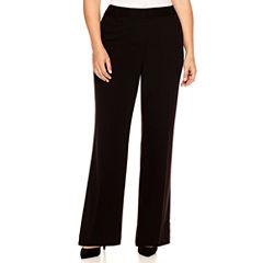 Liz Claiborne® Curvy Elizabeth Secretly Slender Bootcut Leg Pants - Plus