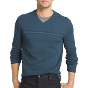 Van Heusen® Long-Sleeve V-Neck Shirt