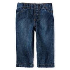 Okie Dokie® Elastic-Waist Jeans - Boys newborn-24m