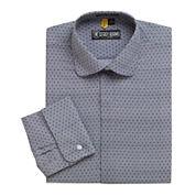 Stacy Adams® Granada Patterned French Cuff Dress Shirt