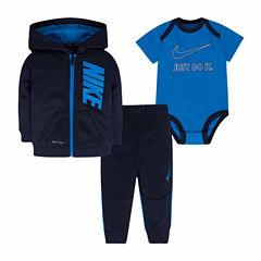Nike Baby Boys Pant Set - Newborn-6 Months