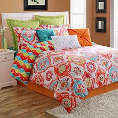 Fiesta Ava Medallion Reversible Comforter Set