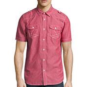 i jeans by Buffalo® Short-Sleeve Merrick Woven Shirt