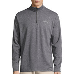 Columbia® Dunsire Point Long-Sleeve Quarter-Zip Pullover Fleece Sweater