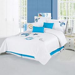 Panama Jack® Shells 7-pc. Comforter Set
