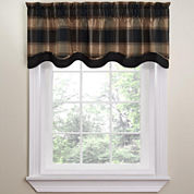 Waverly® Carpet Ride Rod-Pocket Tailored Valance