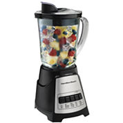 Hamilton Beach® Wave Crusher Glass Jar Blender - Black