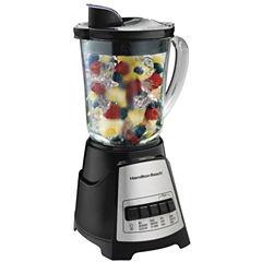 Hamilton Beach® Wave Crusher Glass Jar Blender - Black