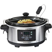 Hamilton Beach® 6-qt. Set & Forget Programmable Slow Cooker