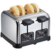Hamilton Beach® 4-Slice Classic Chrome Toaster