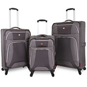 Wenger® Monte Leone Expandable Spinner Upright Luggage Collection