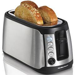 Hamilton Beach® Keep Warm 4-Slice Long Slot Toaster