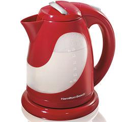 Hamilton Beach® 1.7-Liter Red Electric Kettle