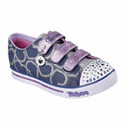 Skechers® Twinkle Toes Sparkle Glitz Girls Sneaker - Little/Big Kids