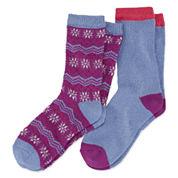 Cuddl Duds Crew Socks