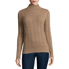 St. John's Bay Turtleneck Pullover Sweater