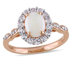 Opal Fine Rings for Jewelry Watches JCPenney