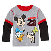 Okie Dokie Mickey Team 28 T-Shirt - Toddler 2T-5T
