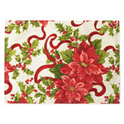 North Pole Trading Co Classic Christmas 4-pc. Placemat