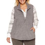 Made For Life Fleece Vest-Plus
