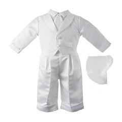 Keepsake® Vested Christening Set - Boys newborn-24m